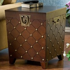 Shewsbury Nailhead Trunk End Table