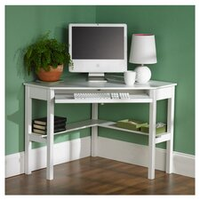 Liverpool Computer Corner Desk in White