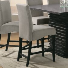 """Brownville 24"""" Bar Stool with Cushion (Set of 2)"""