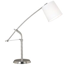 "Reeler 36"" H Table Lamp with Drum Shade"