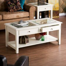Amberly 2 Drawer Coffee Table