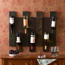 Sutton 7 Bottle Wall Mounted Wine Rack