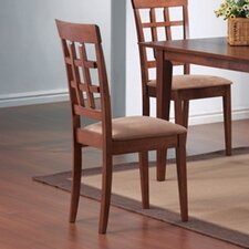 Crawford Wheat Back Chair in Walnut (Set of 2)