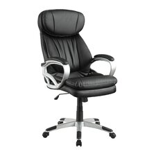 High-Back Executive Managerial Chair with Arms