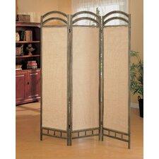 """72"""" x 56"""" Oakville Folding 3 Panel Room Divider"""