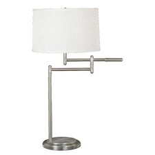 "Theta Grant 30"" H Table Lamp with Drum Shade"