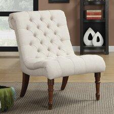 Slipper Tufted Side Chair