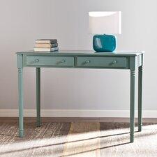 Merritt 2 Drawer Writing Desk in Agate Green