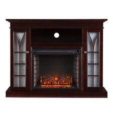 Shelton Media Electric Fireplace