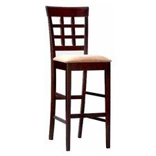 "Hartsel 30"" Bar Stool with Cushion (Set of 2)"