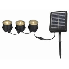 Solar Deck Dock and Path 3-Light String