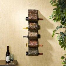 Dunbridge 5 Bottle Wall Mount Wine Rack