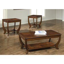 Cherryville Occasional 3 Piece Coffee Table Set