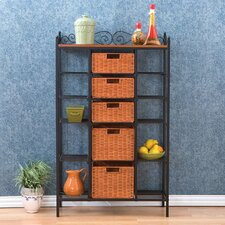 Buttonwood Scrolled Kitchen Storage Rack