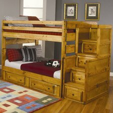 Bunk Beds Full Convertible Toddler Customizable Bedroom Set