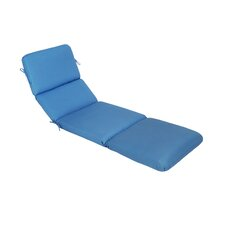 Canvas Outdoor Sunbrella Chaise Lounge Cushion