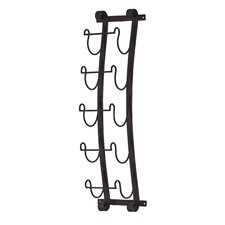 Cimarron 5 Bottle Wall Mount Wine Rack