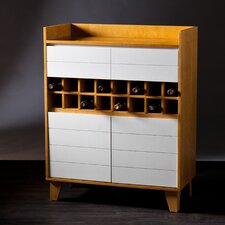 Peralta Bar Cabinet with Wine Storage