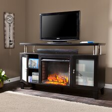Sutton TV Stand with Electric Fireplace