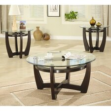 Susanville 3 Piece Coffee Table Set
