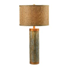 """Moore 30.38"""" H Table Lamp with Drum Shade"""