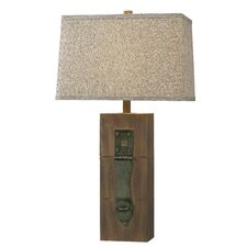 "Worcester 30"" H Table Lamp with Rectangular Shade"