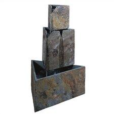 Hillsborough Stacked Triangles Floor Fountain
