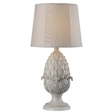 """Artichoke Outdoor 19.2"""" H Table Lamp with Empire Shade"""