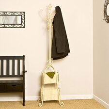 Melbourne Magestic Coat Rack with Storage in Ivory