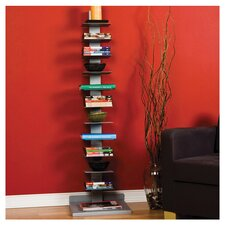Multimedia Spine Storage Rack