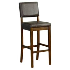 "Milano 24"" Bar Stool with Cushion"
