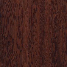 "3"" Engineered Red Oak Hardwood Flooring in Cherry Spice"