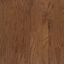 "5"" Engineered Red Oak Hardwood Flooring in Bark"