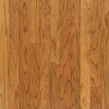 "5"" Engineered Red Oak Hardwood Flooring in Canyon"