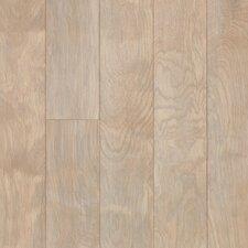 "5"" Engineered Birch Hardwood Flooring in Driftscape White"