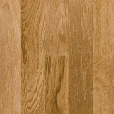 "5"" Engineered Red Oak Hardwood Flooring in Natural"