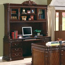 Corning Computer Desk with Hutch
