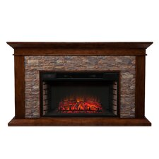 Whitaker Simulated Electric Fireplace