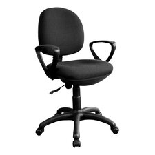 Mid Back Fabric Office Task Chair