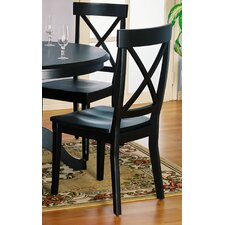 Rubberwood Side Chair (Set of 2)