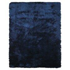 Alitzah  Hand-Tufted Dark Blue Area Rug