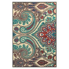 Candiss Blue/Brown Area Rug
