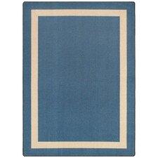 Cariline  Blue Area Rug