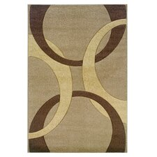 Antonieta Hand woven Beige/Brown Area Rug