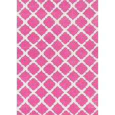 Dalit  Pink Area Rug