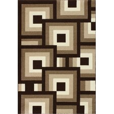 Casidee Hand woven Brown/Beige Area Rug
