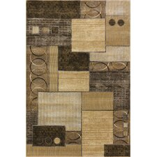 Chessni Gold and Yellow Area Rug