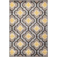 Dazzlynne Silver & Charcoal Area Rug