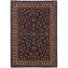 Brighton Traditional Blue/Red Area Rug