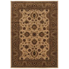 Westminster Traditional Ivory/Blue Area Rug